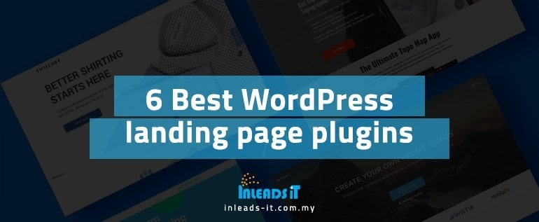 6 Best WordPress landing page plugins