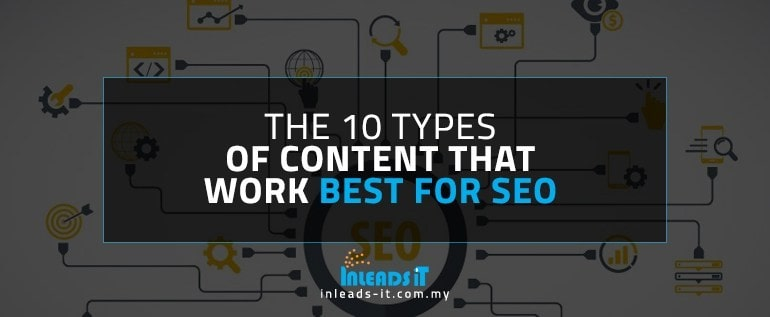 The 10 Types of Content That Work Best for SEO